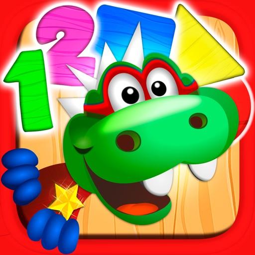 DinoTim: Basic math learning, preschool for kids