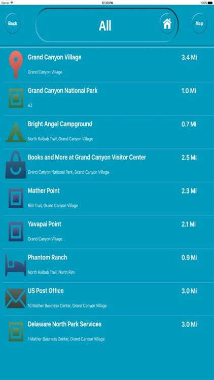 Grand Canyon Arizona Offline City Maps Navigation screenshot-3