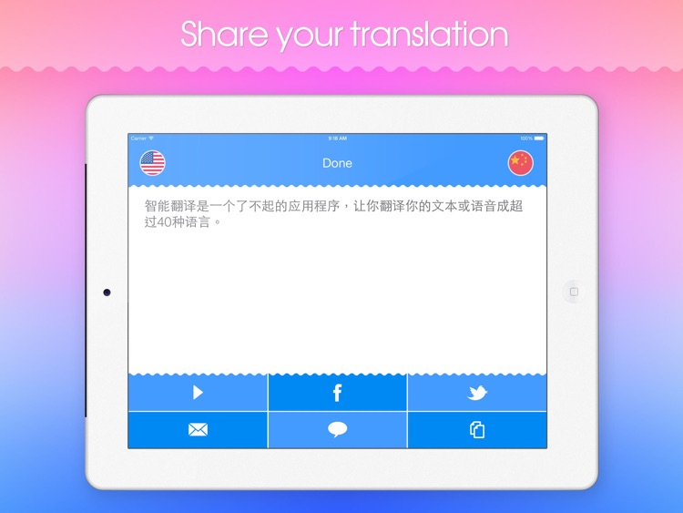 Smart Translator HD! screenshot-1