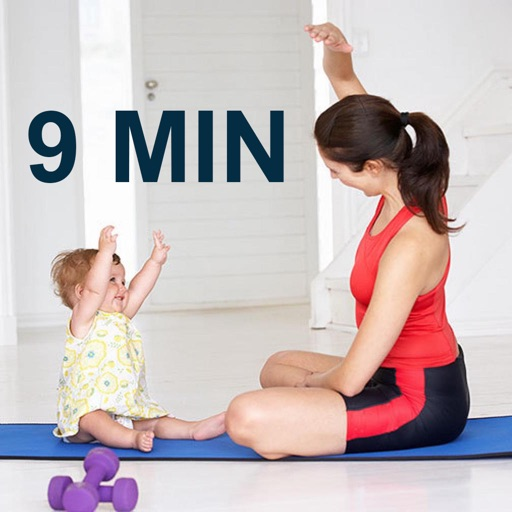 9 Minutes Mom and Baby Workout Challenge Free