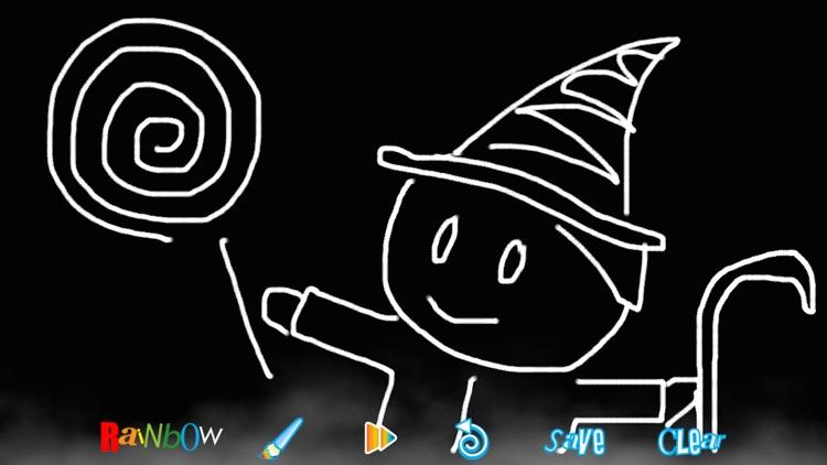 RainbowDoodle - Animated rainbow glow effect screenshot-3