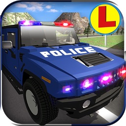 Police Limo Car Driving School