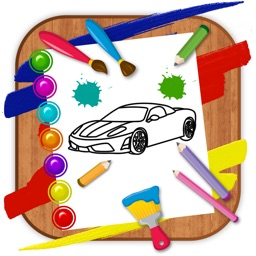 HandPaint Cars - Cars coloring book for toddlers
