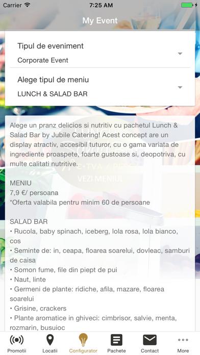 Jubile Catering screenshot four