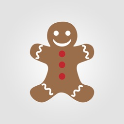 Gingerbread Man Stickers | Premium Collection
