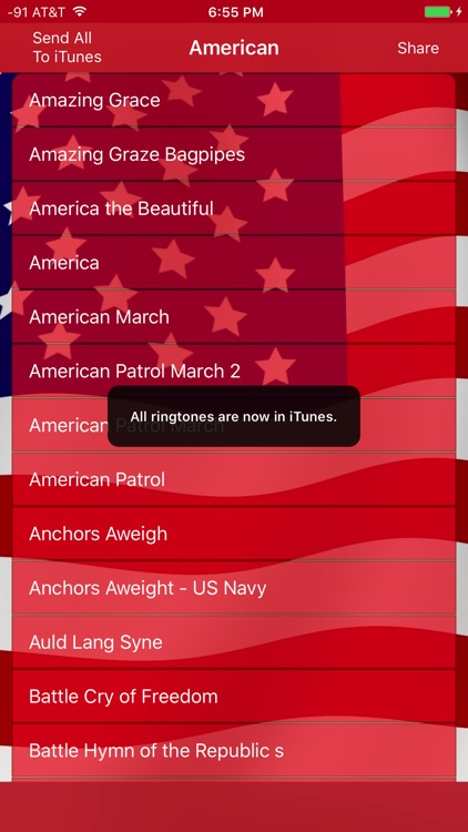 Best American Ringtones and Patriotic Tones