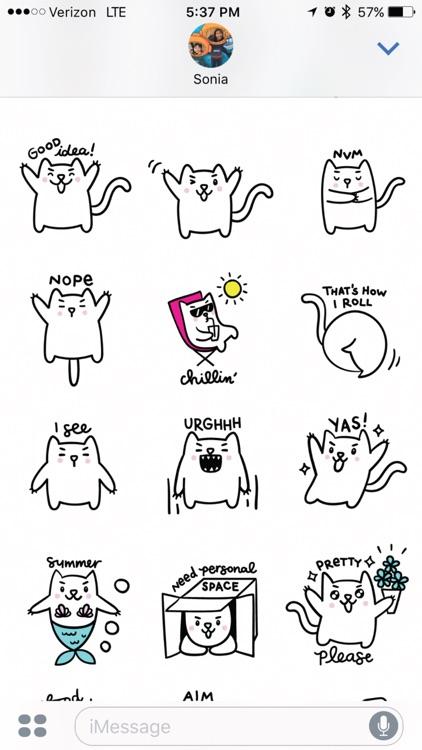 Meowtastic Life - Animated Cat Stickers screenshot-3