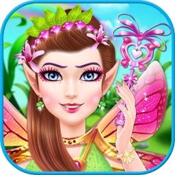 Magical Fairy Salon Makeover Game