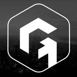 GOAZ: Social app for GPS navigation. Search places
