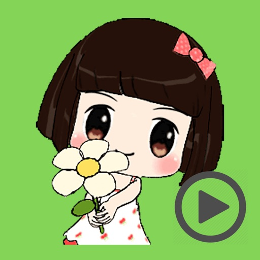 Naughty Lovely Girl Animated