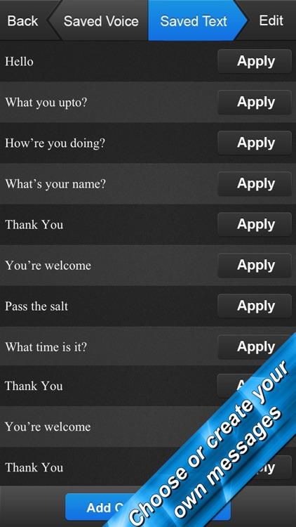 Voice Generator - The Voice App screenshot-3