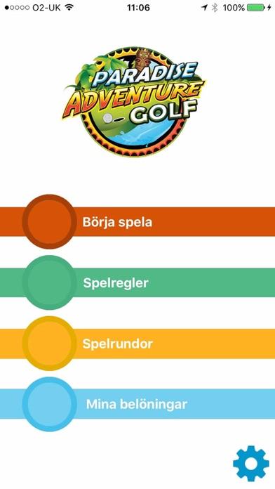 Paradise Adventure Golf Täby screenshot one