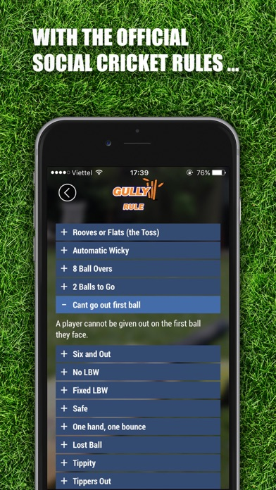 Gully – The ultimate social cricket companion screenshot two
