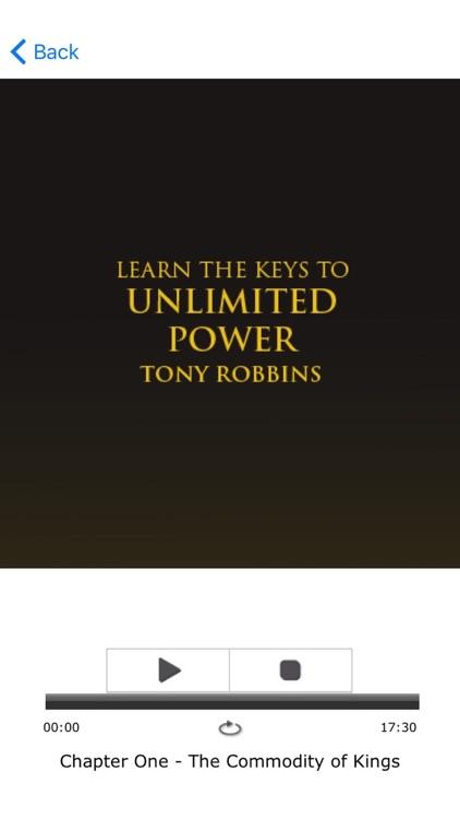 Unlimited Power by Tony Robbins - Meditation Audio screenshot-3