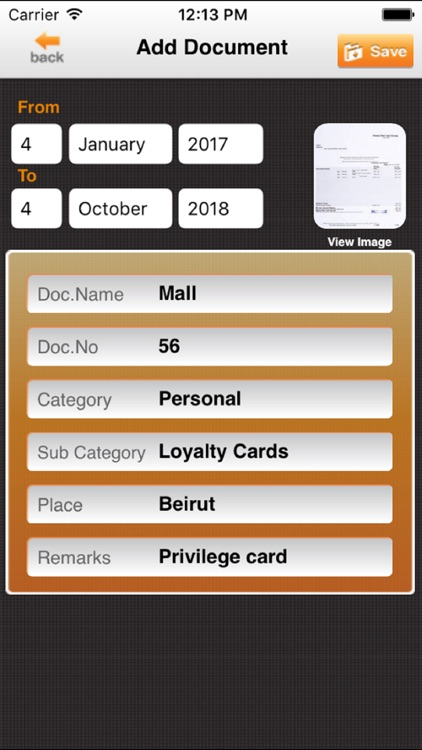 iDocs – Scan and Organize your Documents