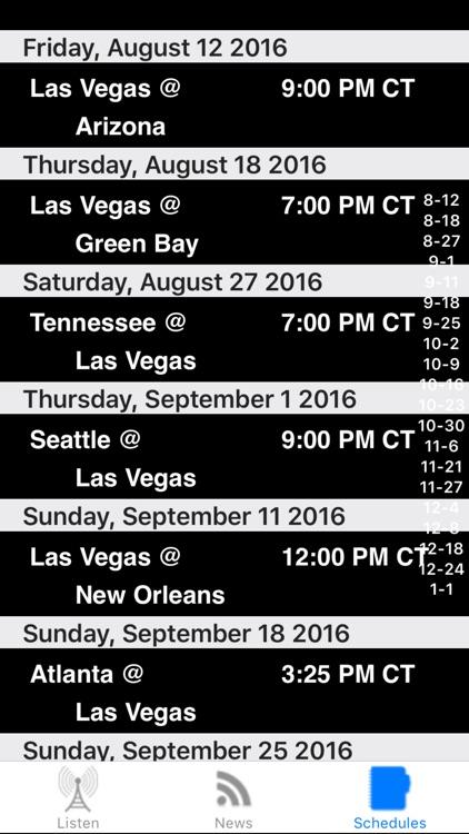 Oakland Football - Radio, Scores & Schedule screenshot-3