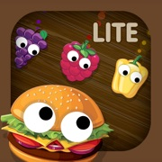 Kids Food Games: Toddlers, Boys Girls Puzzle Free