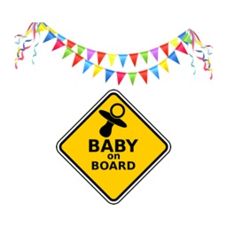 Baby Milestones Sticker Pack