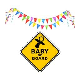 Baby Milestones Sticker Pack