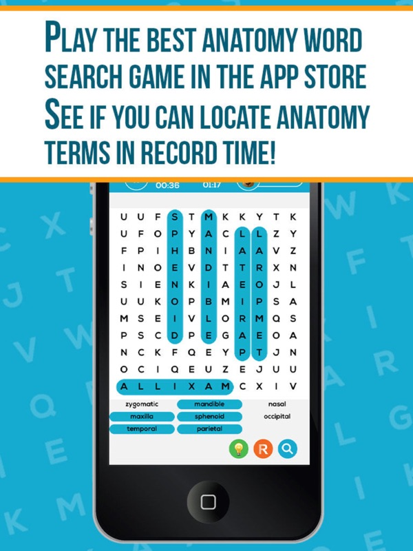 Anatomy Word Search Pro - Online Game Hack and Cheat | TryCheat.com