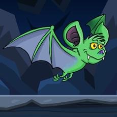 Activities of Green Bat In The Cave