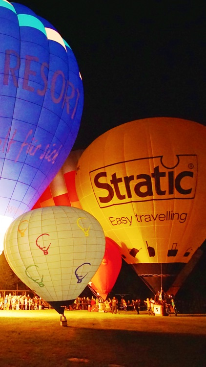 VR Ballooning and Night Glow Virtual Reality 360