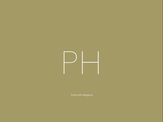 Phont - 新しいフォントを追加することを可能にするフォント管理者のおすすめ画像1
