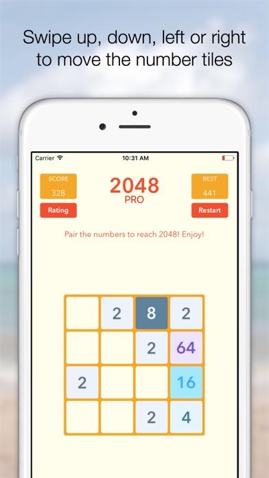 Screenshot #9 for 2048 Tile Pairing Challenge - Professional Version