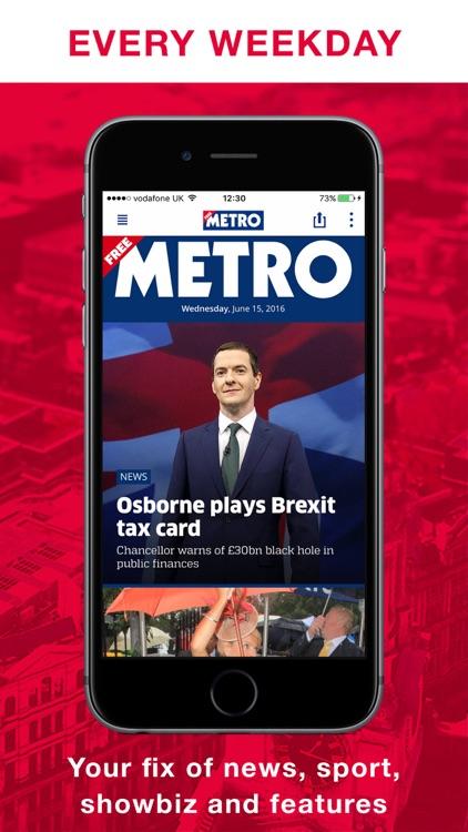 Metro Newspaper Digital Edition screenshot-0