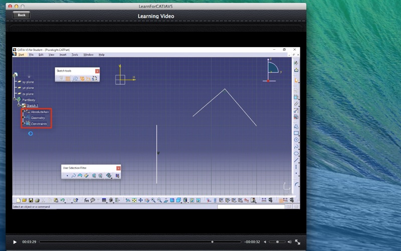 LearnFor CATIAV5 screenshot 2