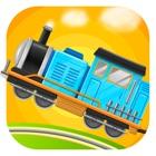 火车总动员 - 驾驶和赛车儿童游戏 icon