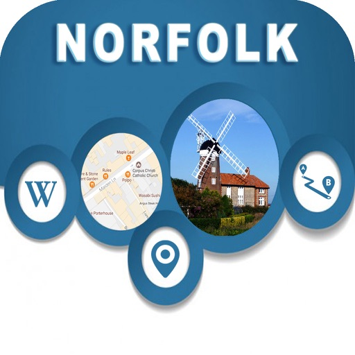 Norfolk Virginia Offline City Maps Navigation