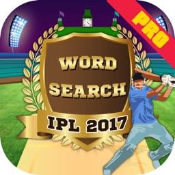 IPL 2017 : Word Search Pro