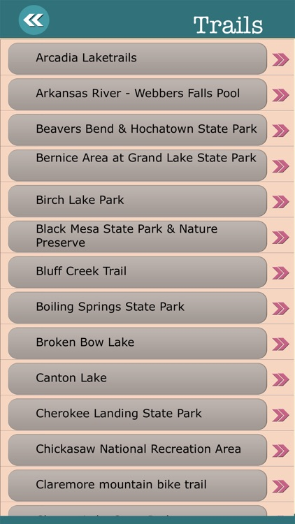 Oklahoma State Campgrounds & Hiking Trails screenshot-3