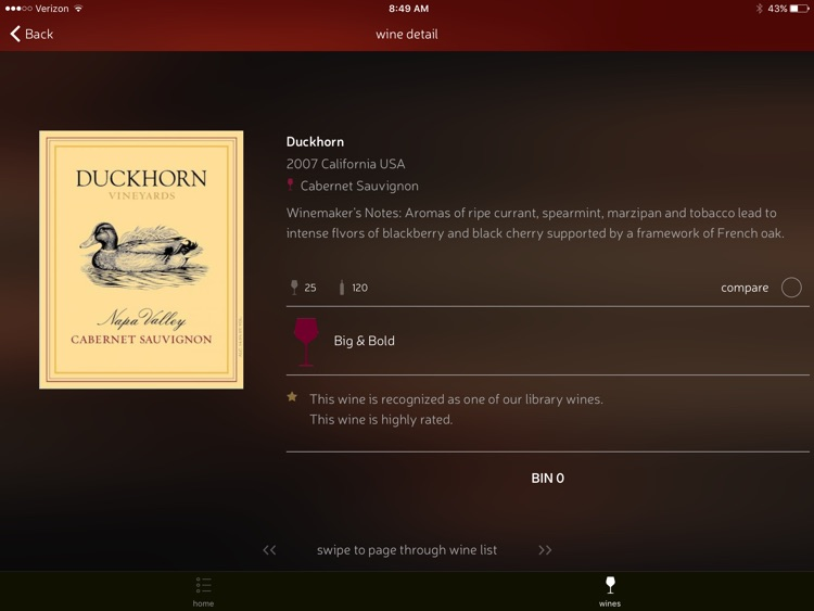 CorkGuru Wine Menu Software