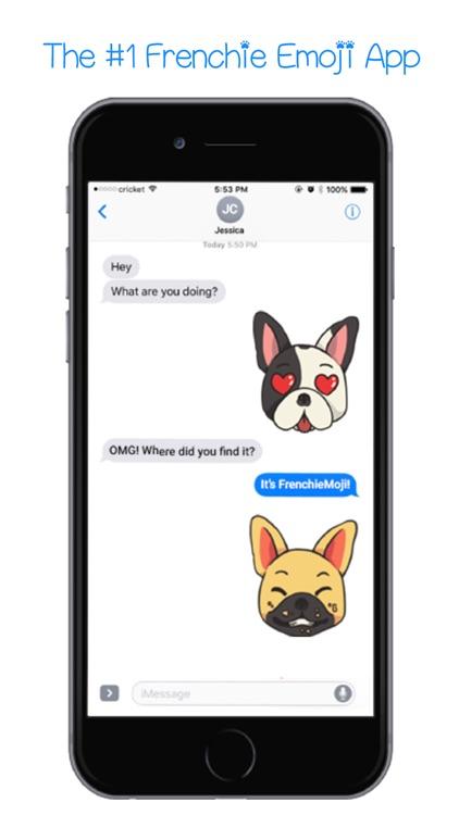 FrenchieMoji - French Bull Dog Emojis & Stickers screenshot-0