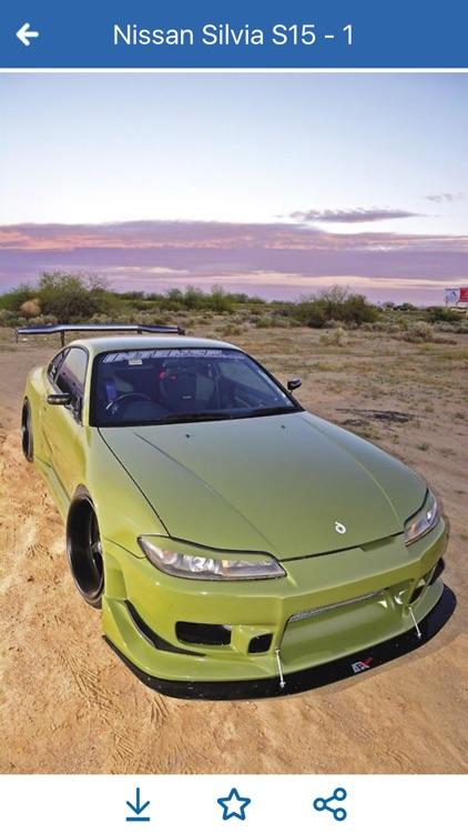 HD Car Wallpapers - Nissan Silvia S15 Edition screenshot-4