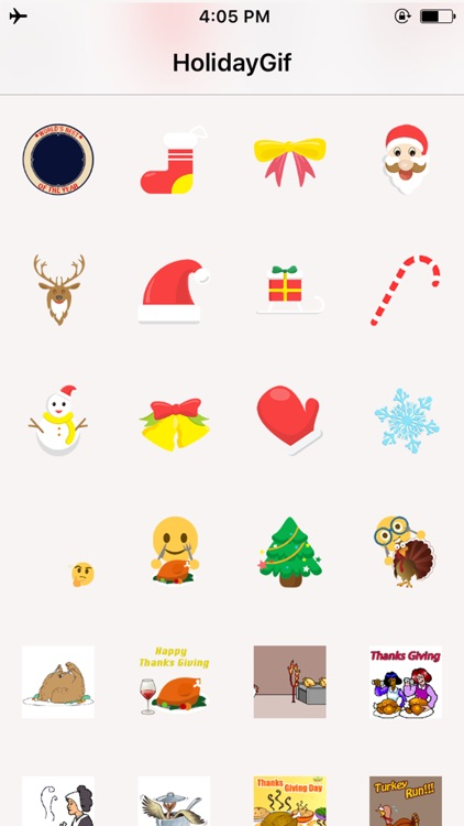 Holiday Gif - Animated Holiday Greeting Sticker