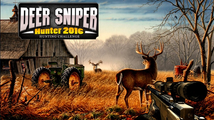 3D Deer Sniper Hunting Game 2017 screenshot-0