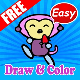Easy Animals How to Draw and Color for kids