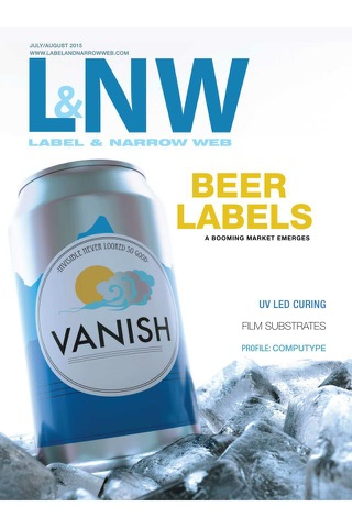 Screenshot of Label & Narrow Web