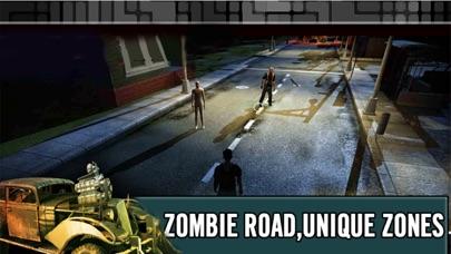 ゾンビロードハイウェイ:無料レーシング&シューティングゲームのスクリーンショット4
