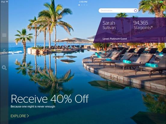 SPG: Starwood Hotels & Resorts Скриншоты7