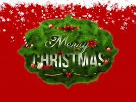 Merry Christmas Wishes Stickers