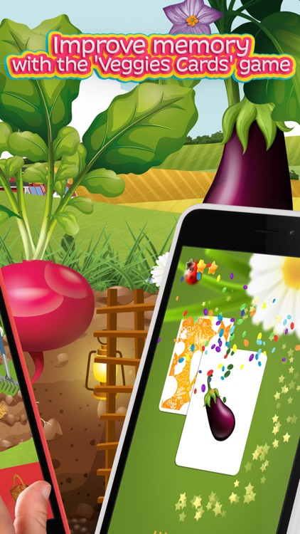 Moona Vegetable: Learning Games for Toddler, Kids screenshot-4