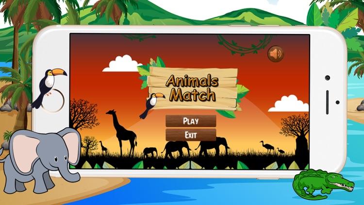 Kids Animals Matching Game screenshot-4