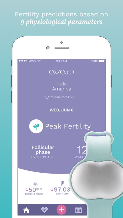 Ava Bracelet - Fertility + Ovulation Tracking
