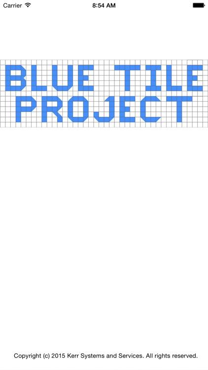 Blue Tile Project
