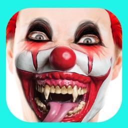 Scary Clown Photo Prank – Spooky Face Camera