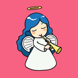Christmas Angels Stickers
